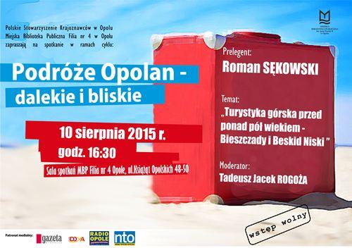 Podróże Opolan - dalekie i bliskie