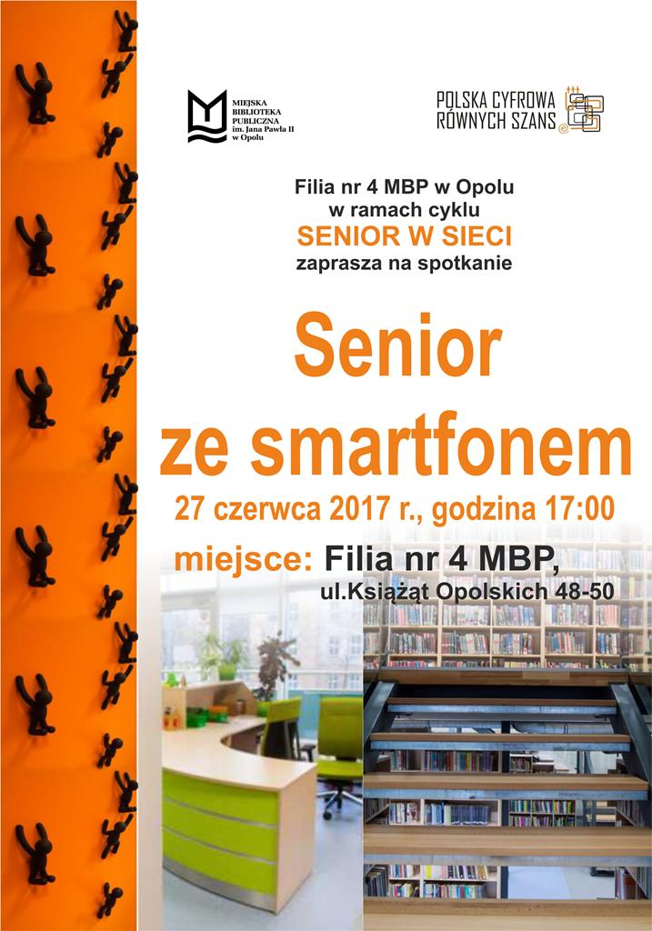"Spotkanie ""Senior ze smartfonem: darmowe komunikatory"""