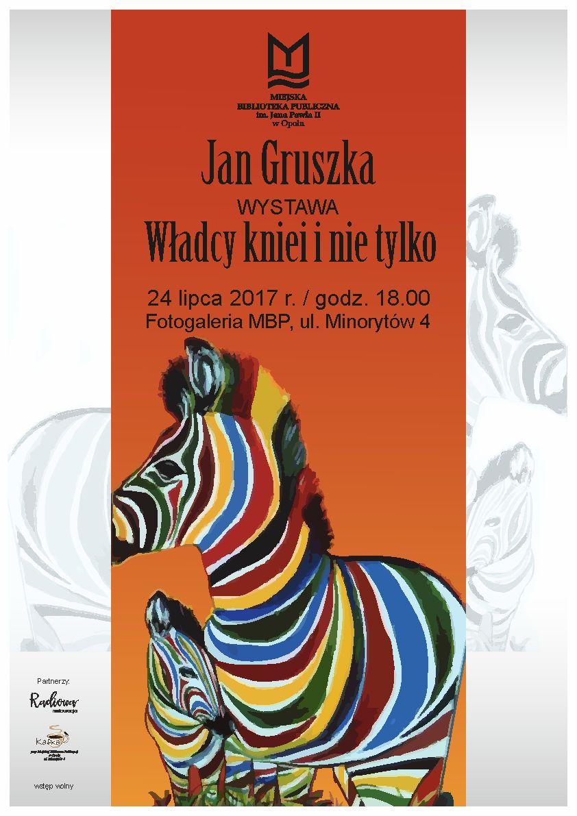 Władcy kniei i nie tylko – wystawa prac Jana Gruszki