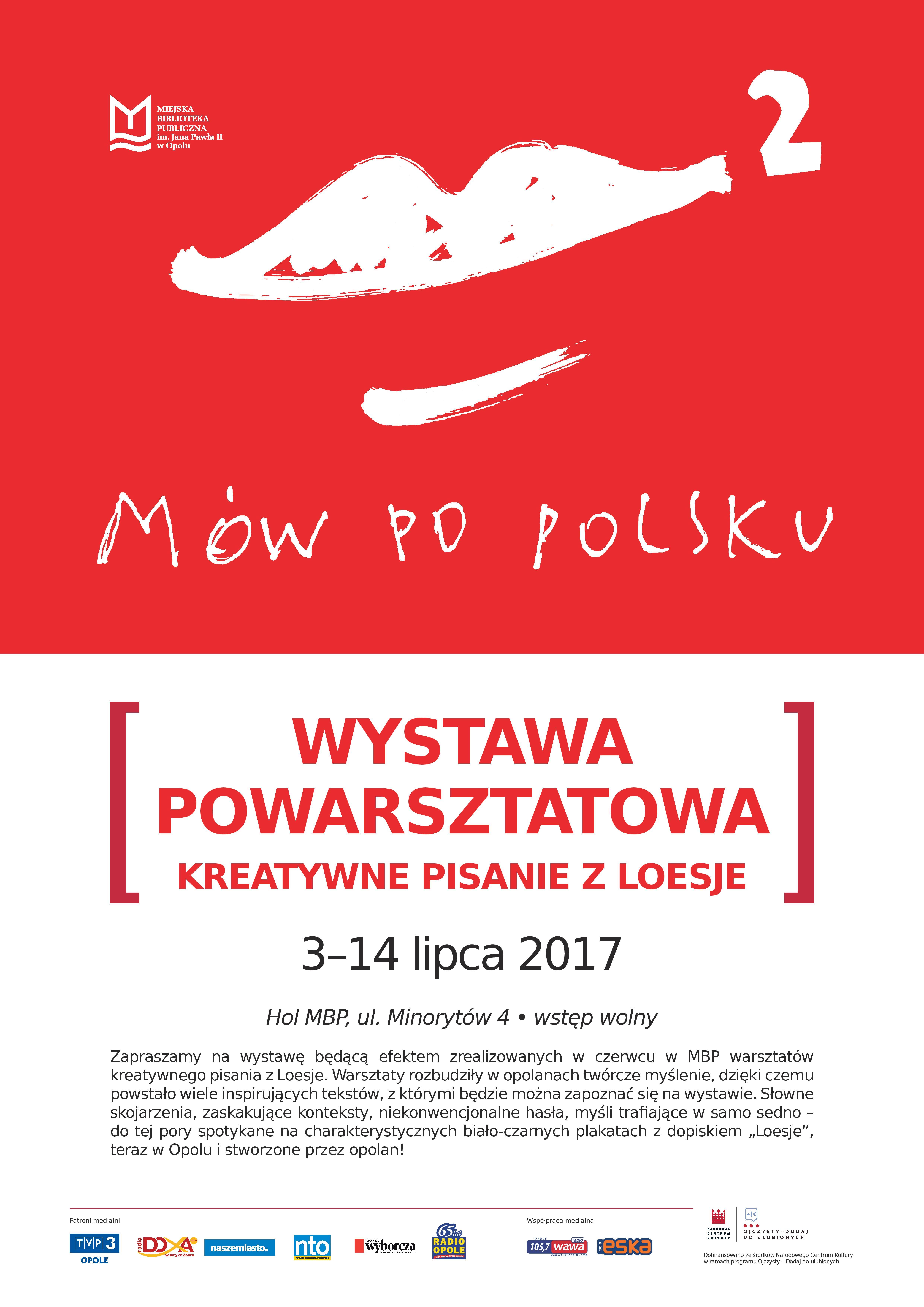 Wystawa powarsztatowa Mów po polsku 2!