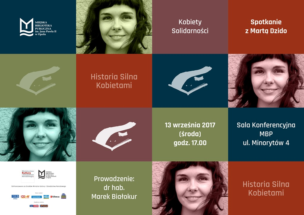 HISTORIA SILNA KOBIETAMI - spotkanie z Martą Dzido