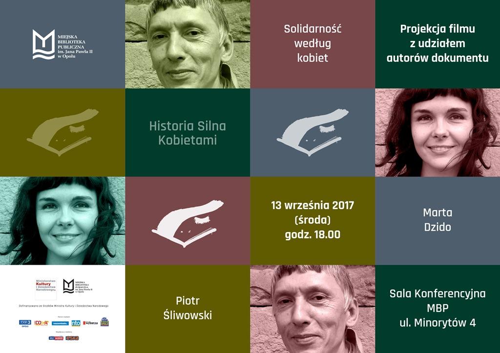 HISTORIA SILNA KOBIETAMI - Solidarność według kobiet - projekcja filmu z udziałem autorów dokumentu