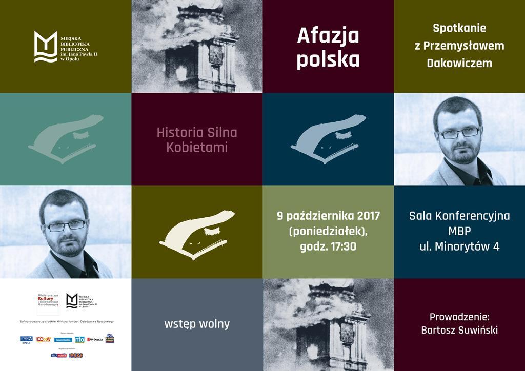 Afazja polska - spotkanie z Przemysławem Dakowiczem