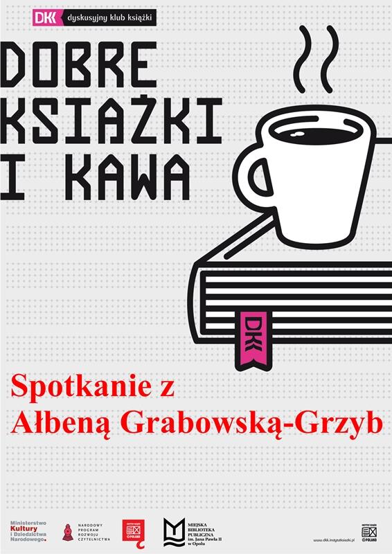 DKK - spotkanie autorskie z Ałbeną Grabowską-Grzyb