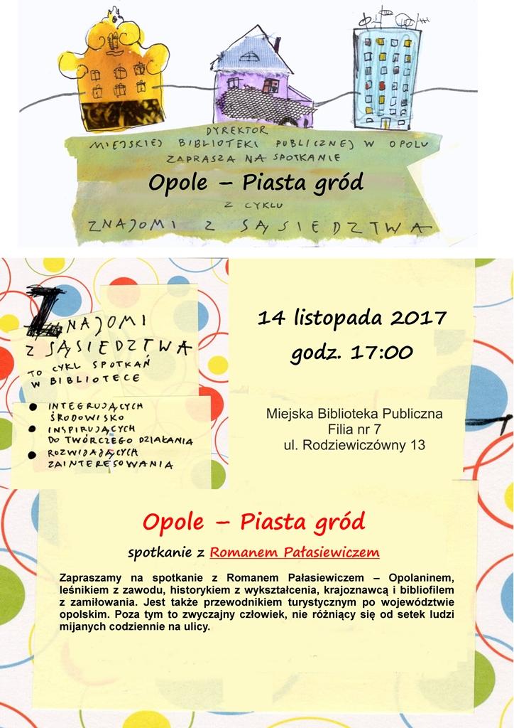 Opole - Piasta gród