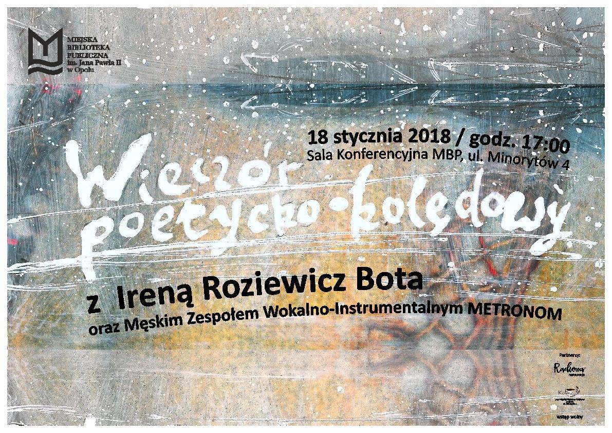 Wieczór poetycko-kolędowy
