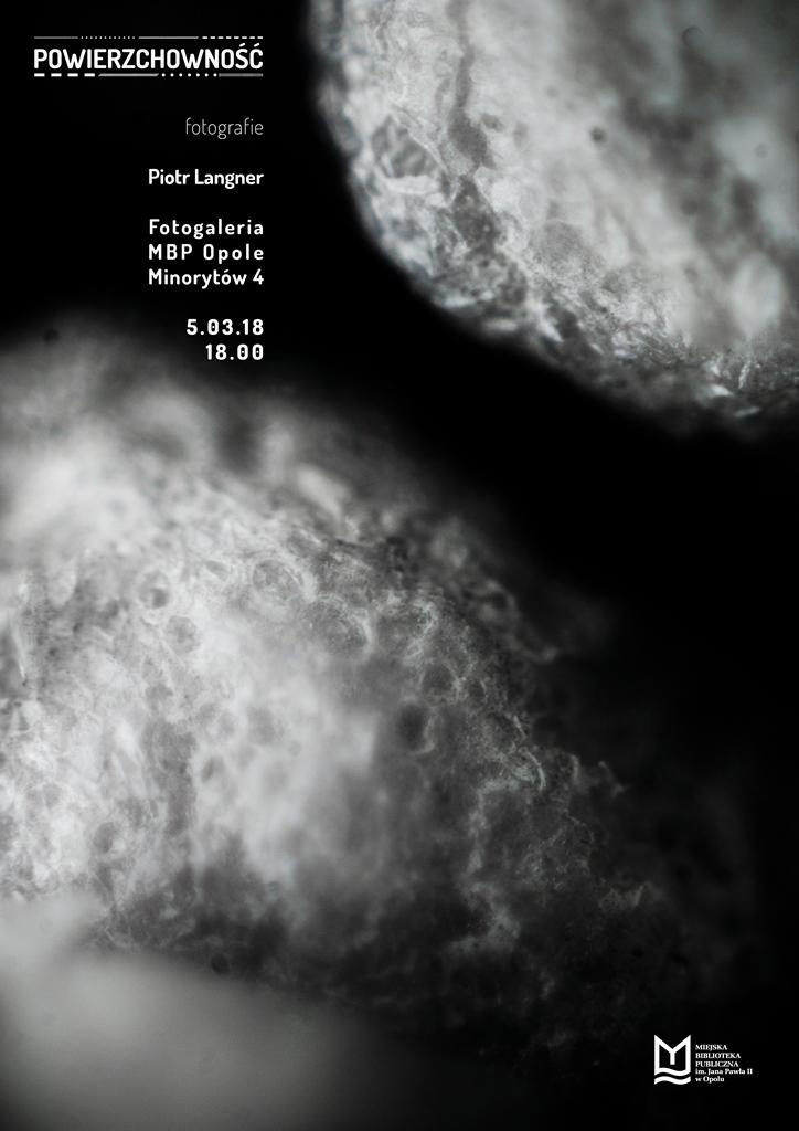 Powierzchowność – wernisaż wystawy Piotra Langnera