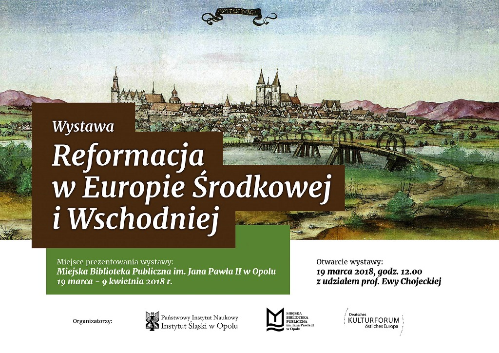 """Wystawa """"Reformacja w Europie Środkowej i Wschodniej"""""""