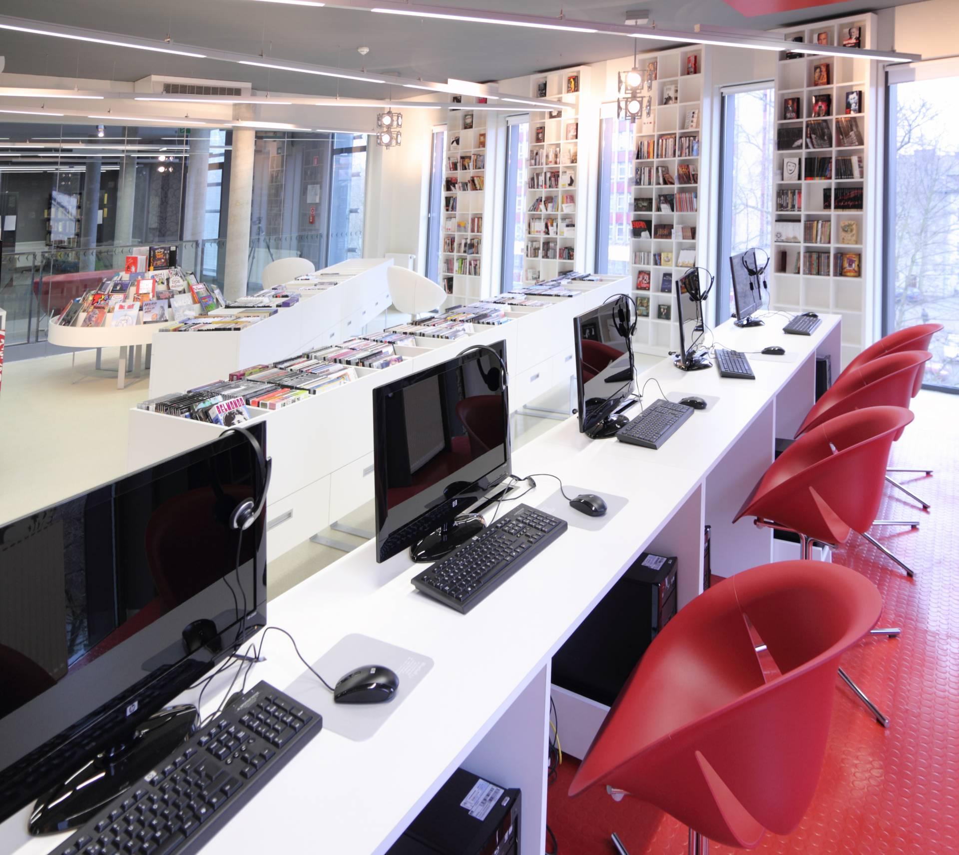 Biblioteka Główna - Mediateka