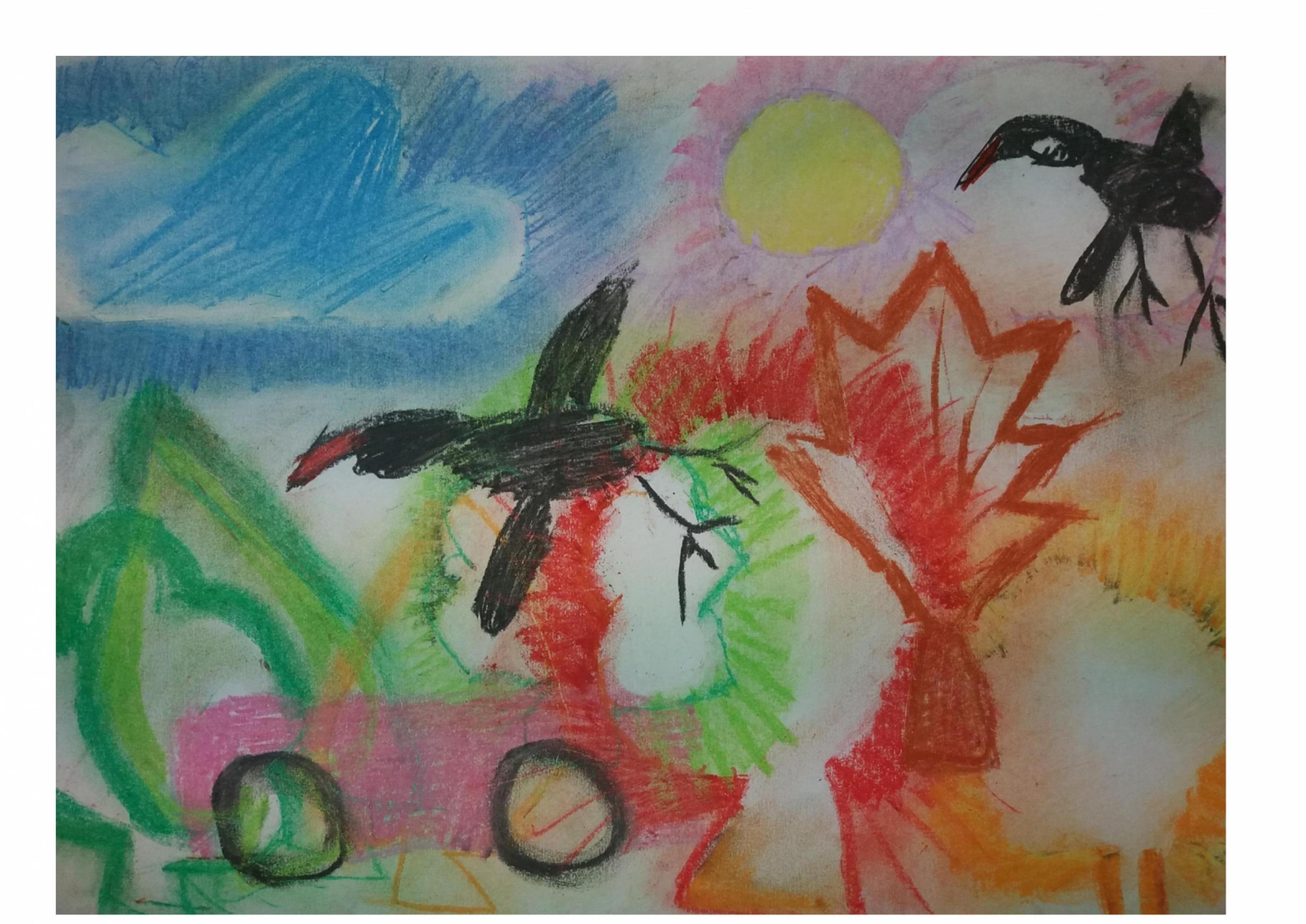 """""""Kolorowy świat oczami dziecka"""" – wystawa"""