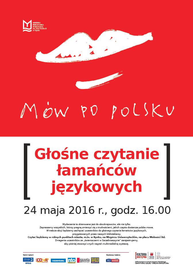 Mów po polsku! - Głośne czytanie łamańców językowych