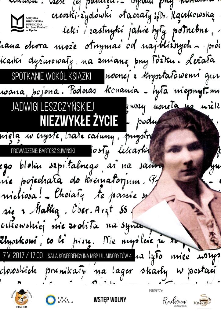 Spotkanie wokół książki Jadwigi Leszczyńskiej