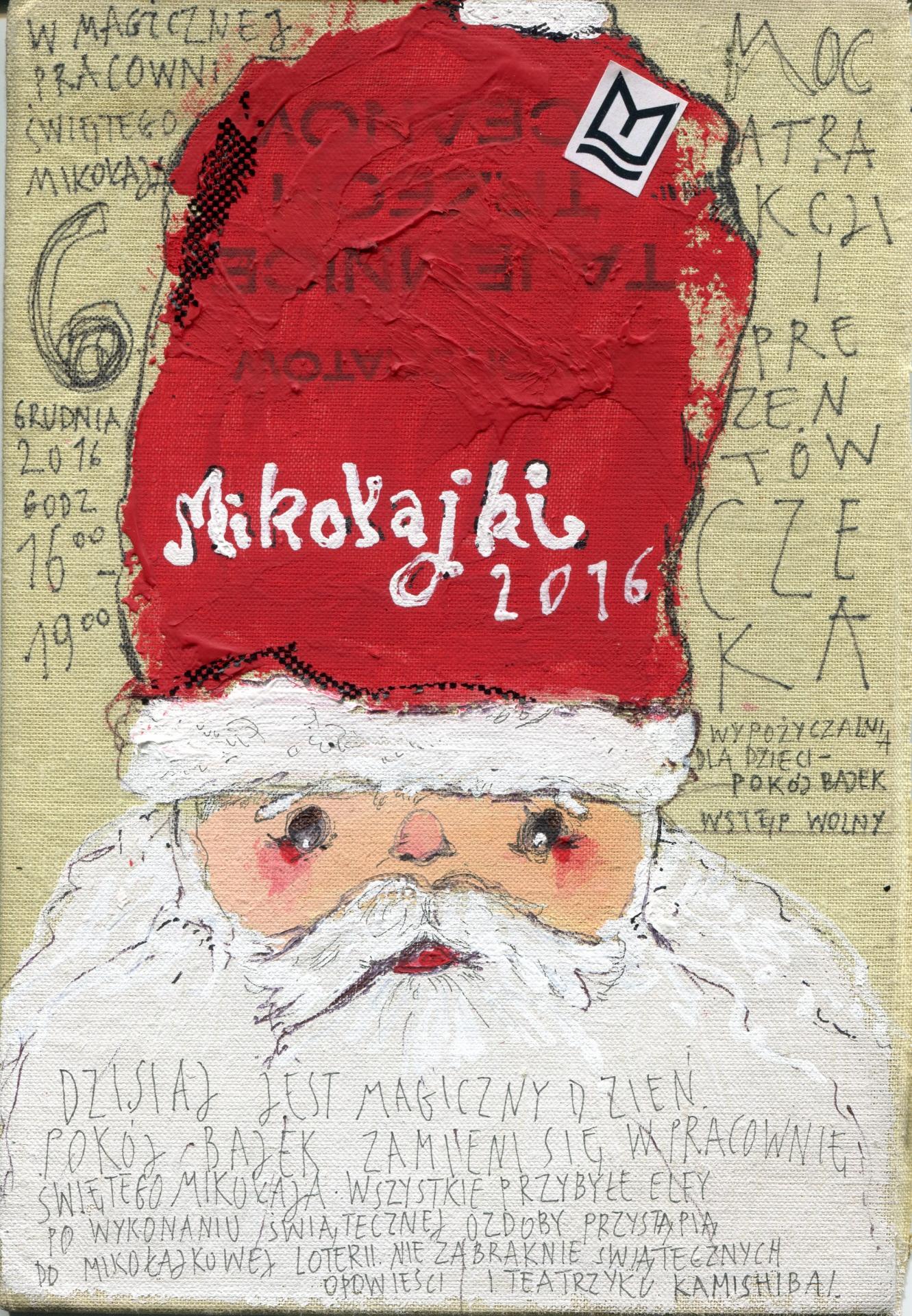 W magicznej pracowni świętego Mikołaja
