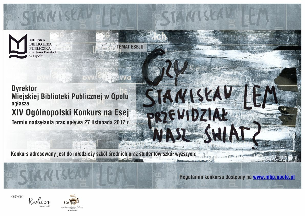 Konkurs na Esej 2017