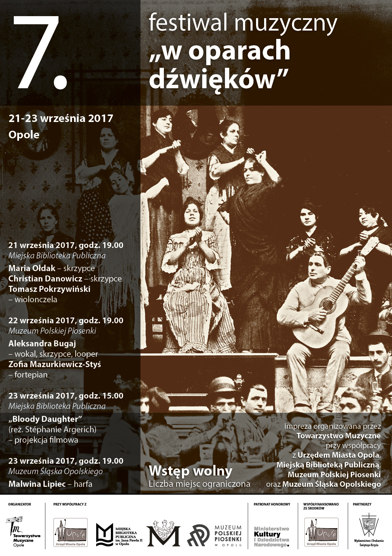 """7. Festiwal Muzyczny """"W oparach dźwięków"""""""