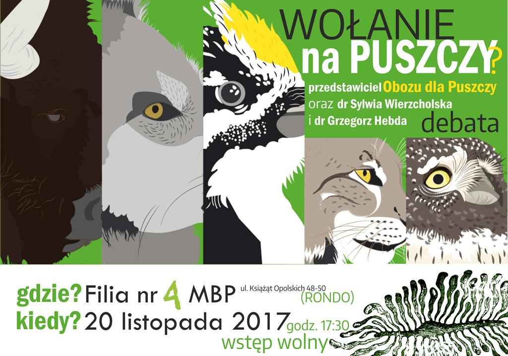 """""""Wołanie na Puszczy?"""" – debata w sprawie Puszczy Białowieskiej"""