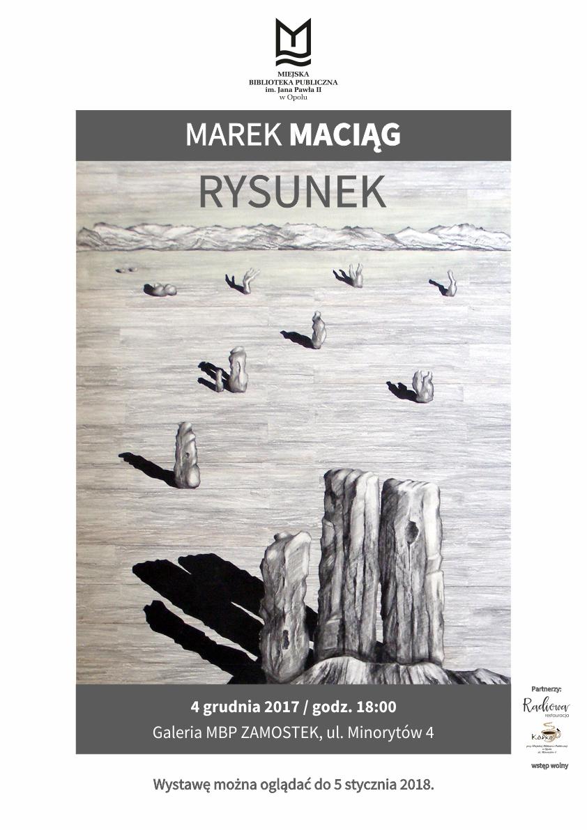 Marek Maciąg. Rysunek