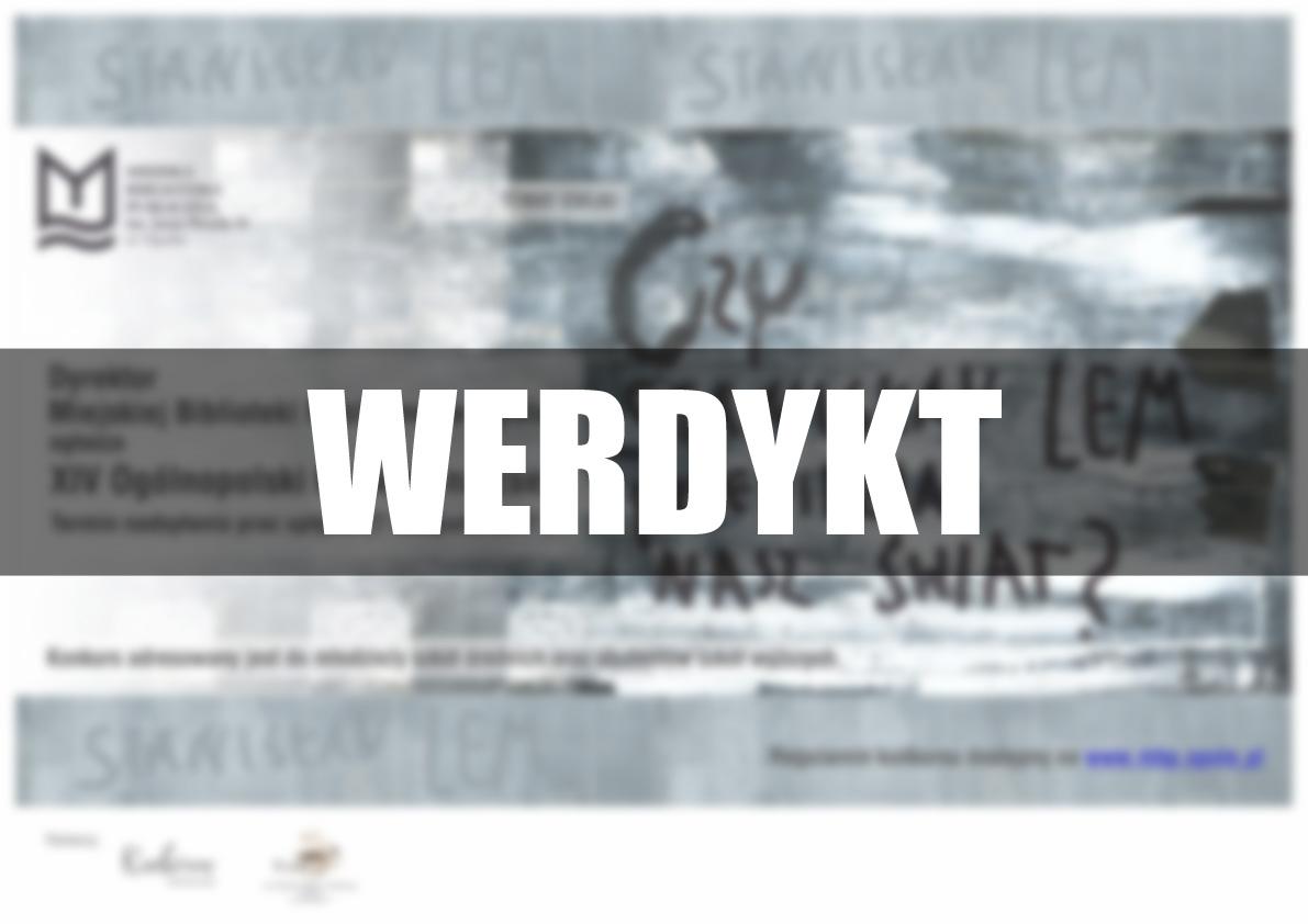 XIV edycja ogólnopolskiego konkursu na esej – werdykt
