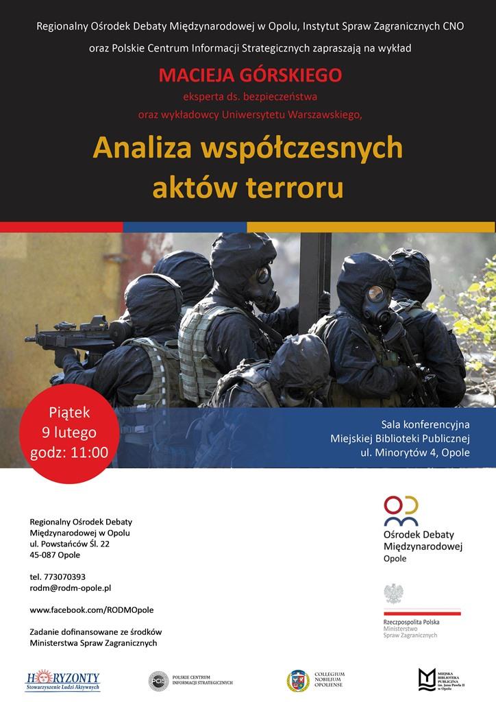 Analiza współczesnych aktów terroru
