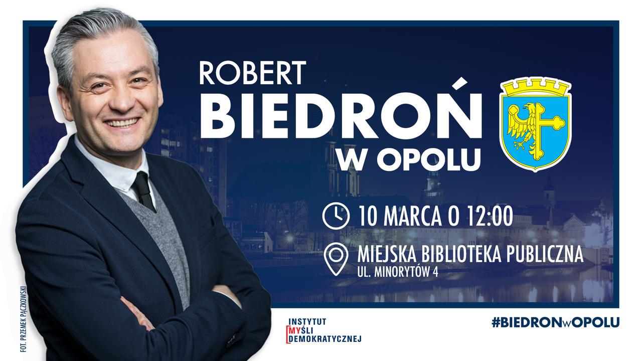 Pod prąd – spotkanie z Robertem Biedroniem