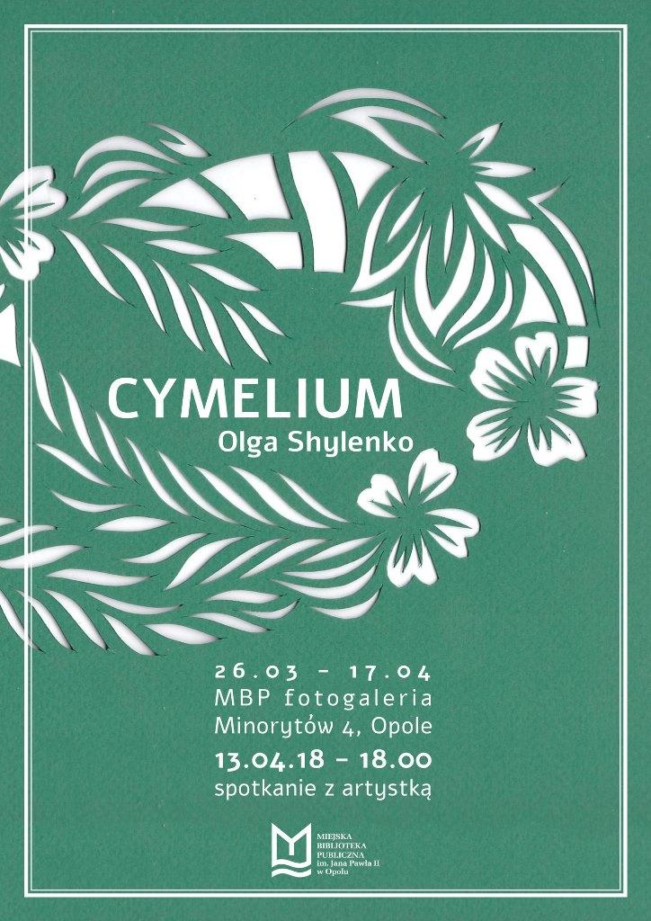 Cymelium – wystawa Olgi Shylenko