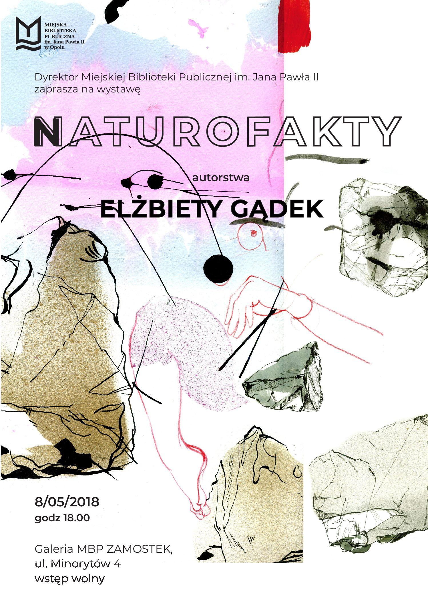 Naturofakty – wernisaż wystawy Elżbiety Gądek