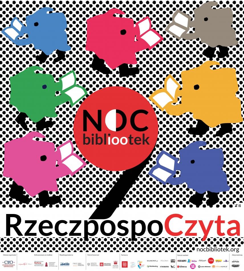 """Noc Bibliotek """"RzeczpospoCzyta"""""""