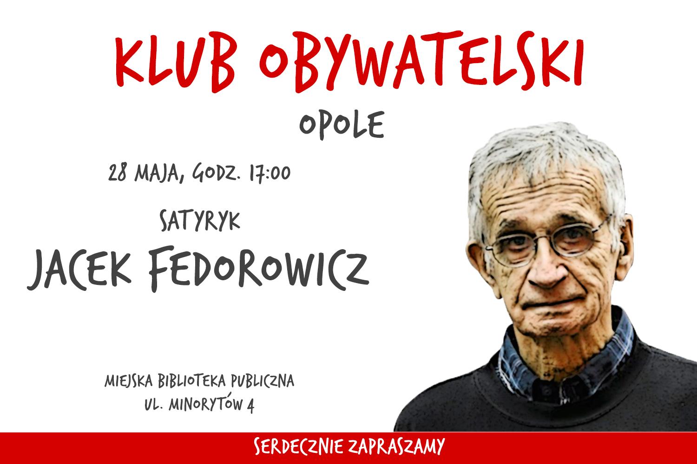 Spotkanie z Jackiem Fedorowiczem