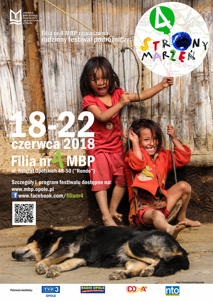4 Strony Marzeń – rodzinny festiwal podróżniczy
