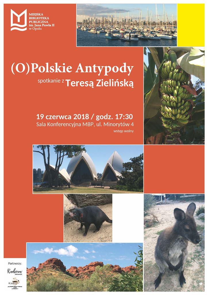 (O)Polskie Antypody – spotkanie z Teresą Zielińską