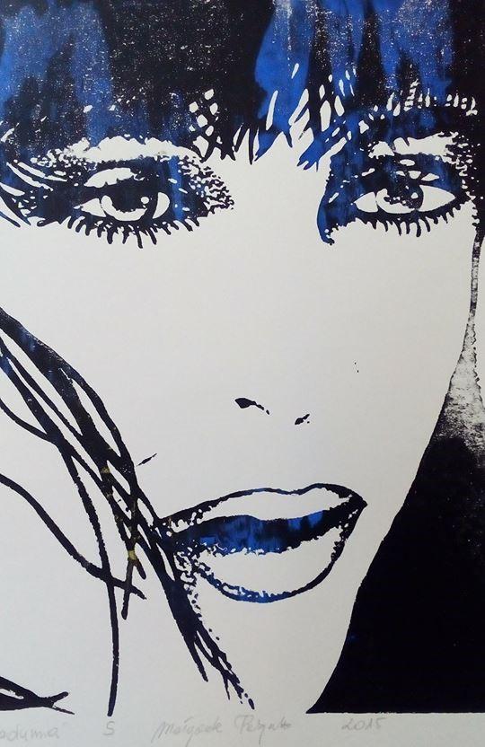 """""""Z przymrużeniem oka"""" - wystawa grafiki Małgorzaty Patyniak"""