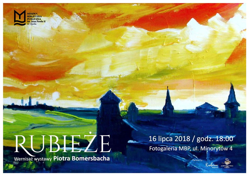 """""""Rubieże"""" - wernisaż wystawy Piotra Bomersbacha"""