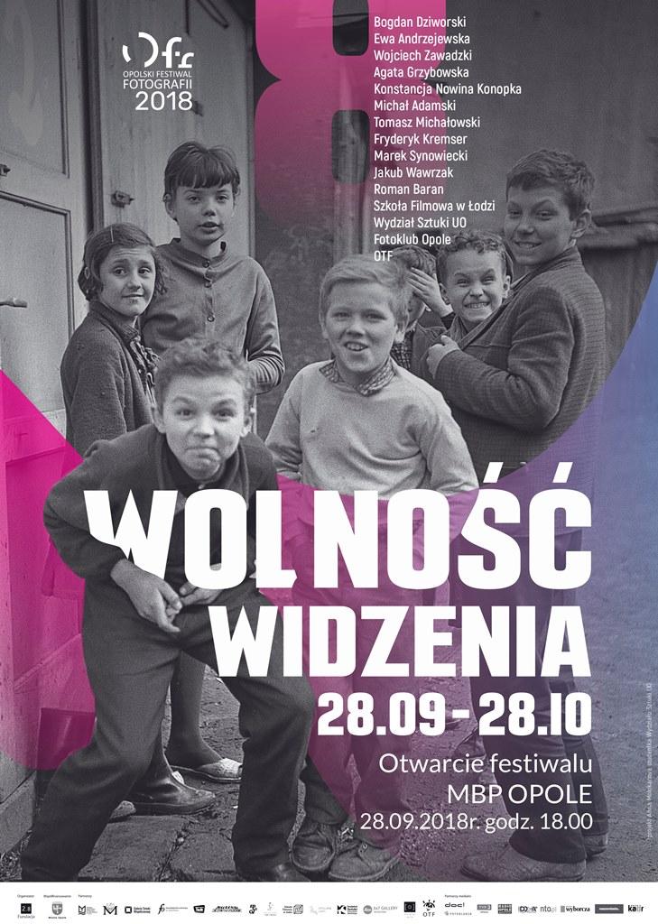 """8. Opolski Festiwal Fotografii """"Wolność widzenia"""""""