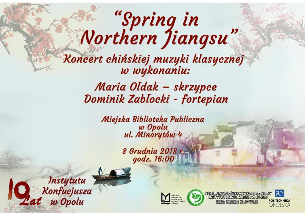 Spring in Northen Jiangsu - koncert chińskiej muzyki klasycznej