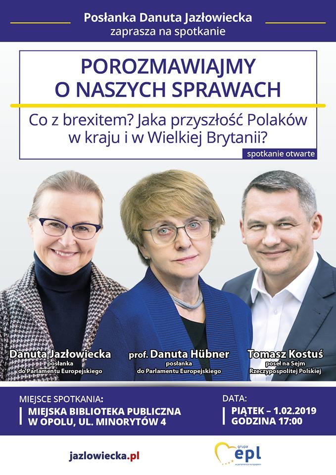 POROZMAWIAJMY O NASZYCH SPRAWACH / Co z brexitem? Jaka przyszłość Polaków w kraju i w Wielkiej Brytanii?