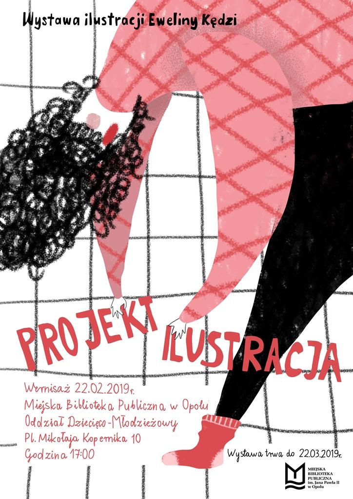 Projekt Ilustracja – wernisaż wystawy Eweliny Kędzi