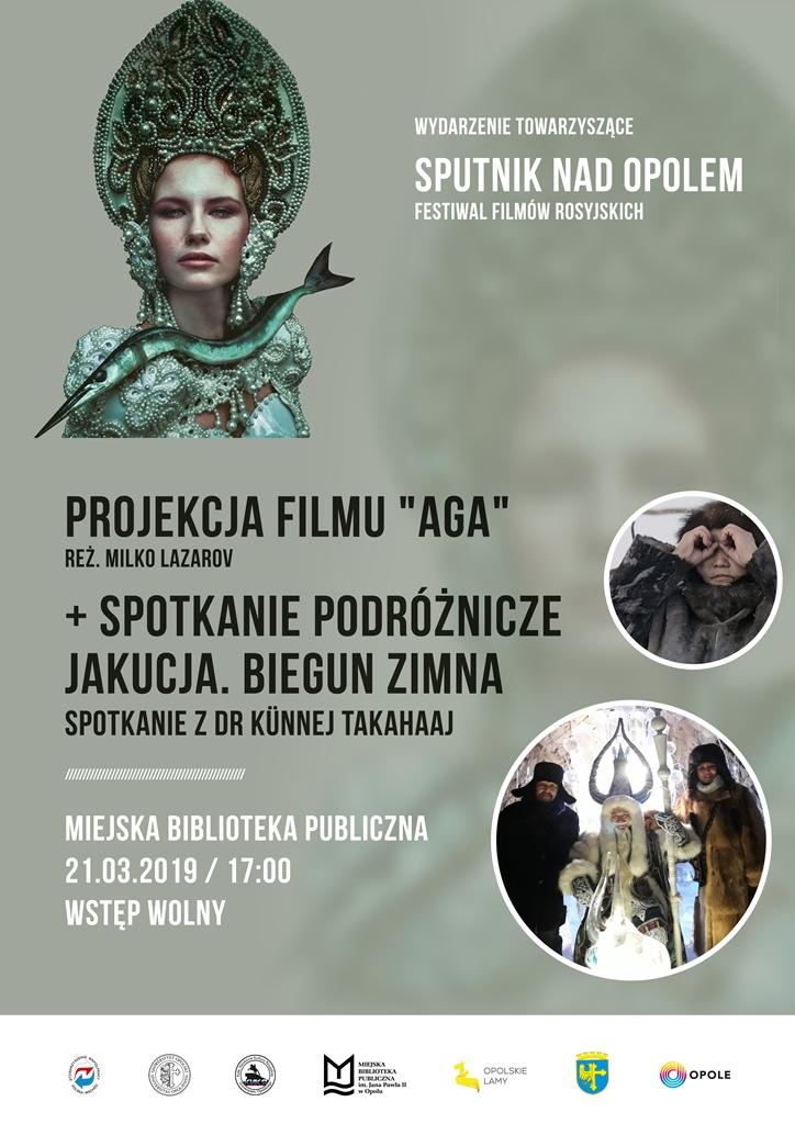 """Jakucja. Biegun zimna / Film """"Ága"""" i spotkanie podróżnicze z dr Künnej Takaahaj"""