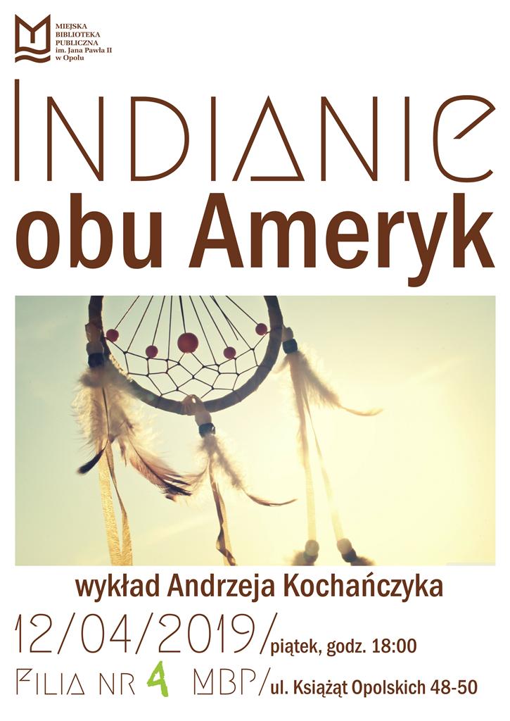 """""""Indianie obu Ameryk"""" – spotkanie edukacyjne"""