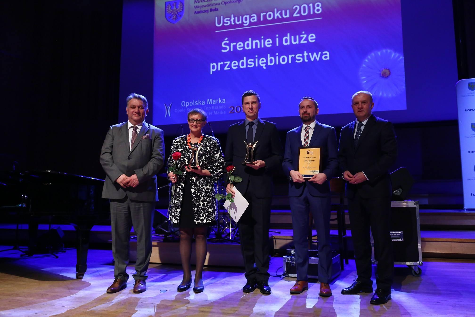 """You are currently viewing MBP nagrodzona w konkursie """"Opolska Marka"""" 2018"""