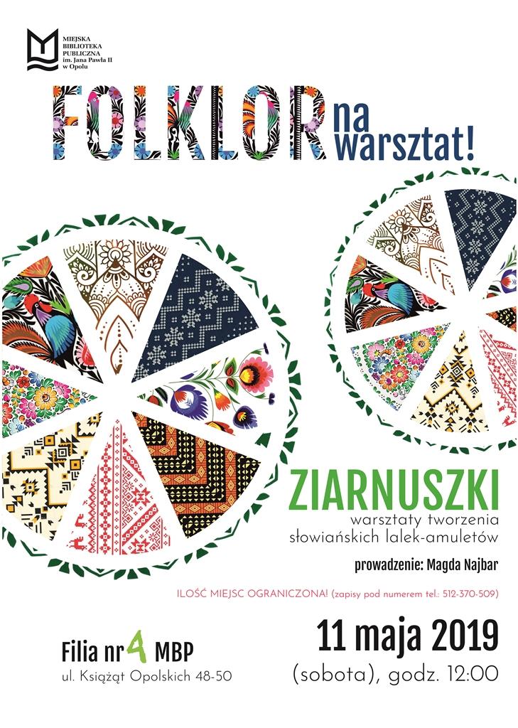 Folklor na warsztat: Ziarnuszki – warsztaty tworzenia słowiańskich lalek-amuletów
