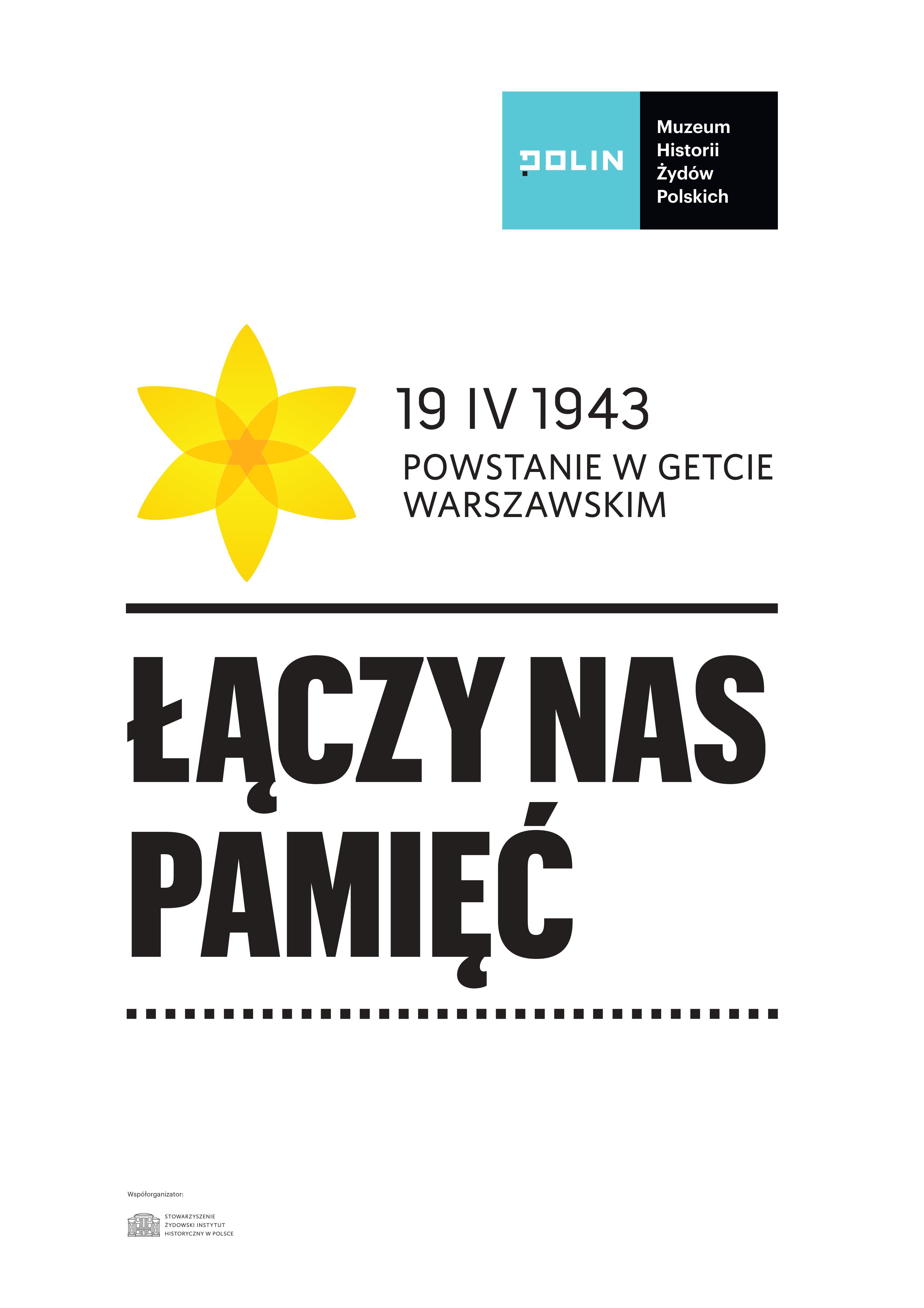 """76. rocznica wybuchu powstania w getcie warszawskim – Akcja """"ŻONKILE"""" 2019"""