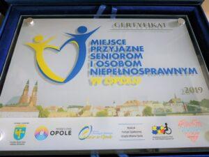 MBP w Opolu miejscem przyjaznym seniorom i osobom niepełnosprawnym