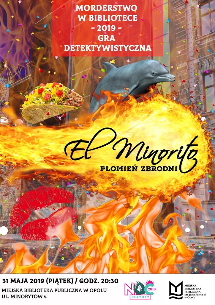 El Minorito – Płomień Zbrodni / Morderstwo w Bibliotece vol. 9