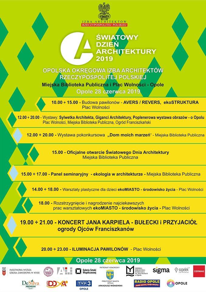Światowy Dzień Architektury 2019 w Opolu