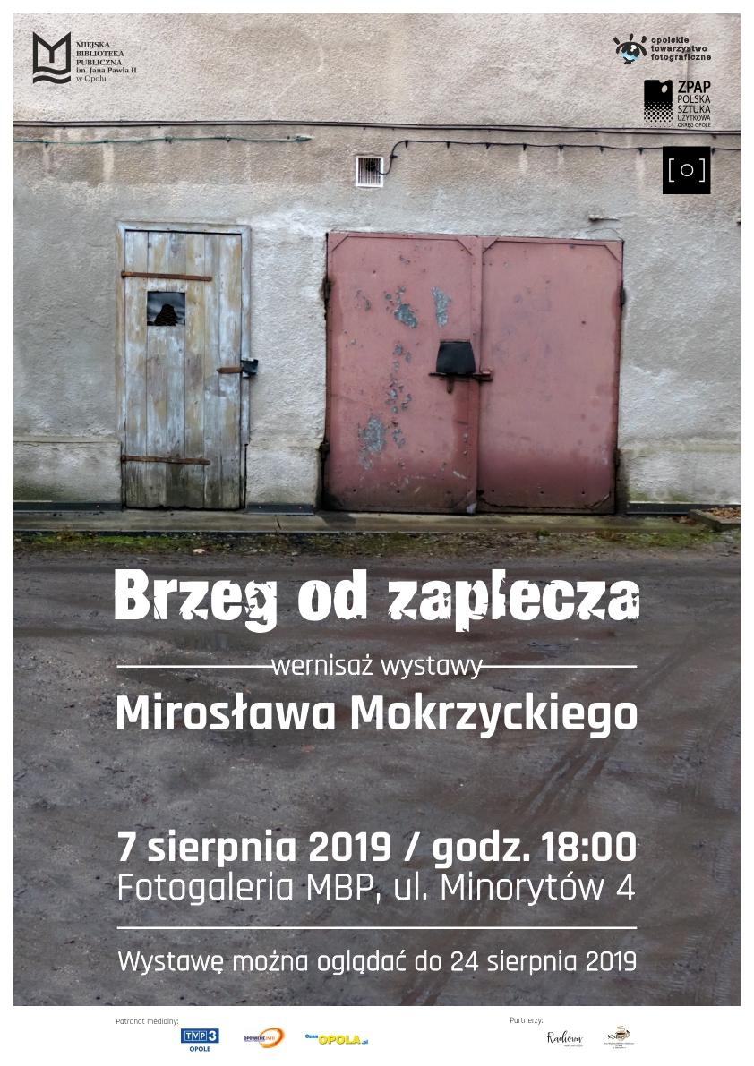 Brzeg od zaplecza – wernisaż wystawy Mirosława Mokrzyckiego