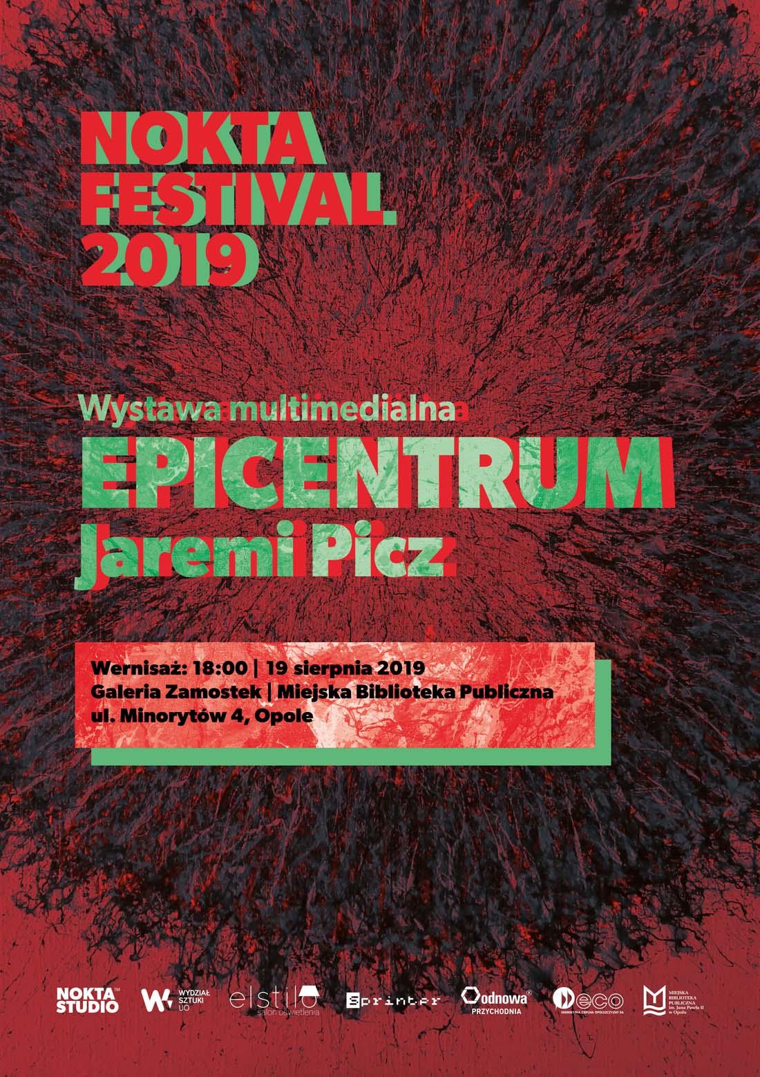 Epicentrum – wernisaż wystawy Jaremiego Picza