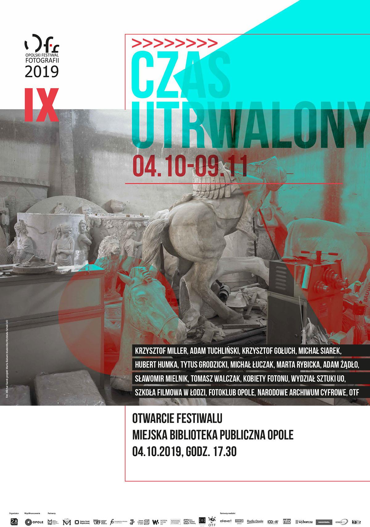 """9. Opolski Festiwal Fotografii """"Czas utrwalony"""""""