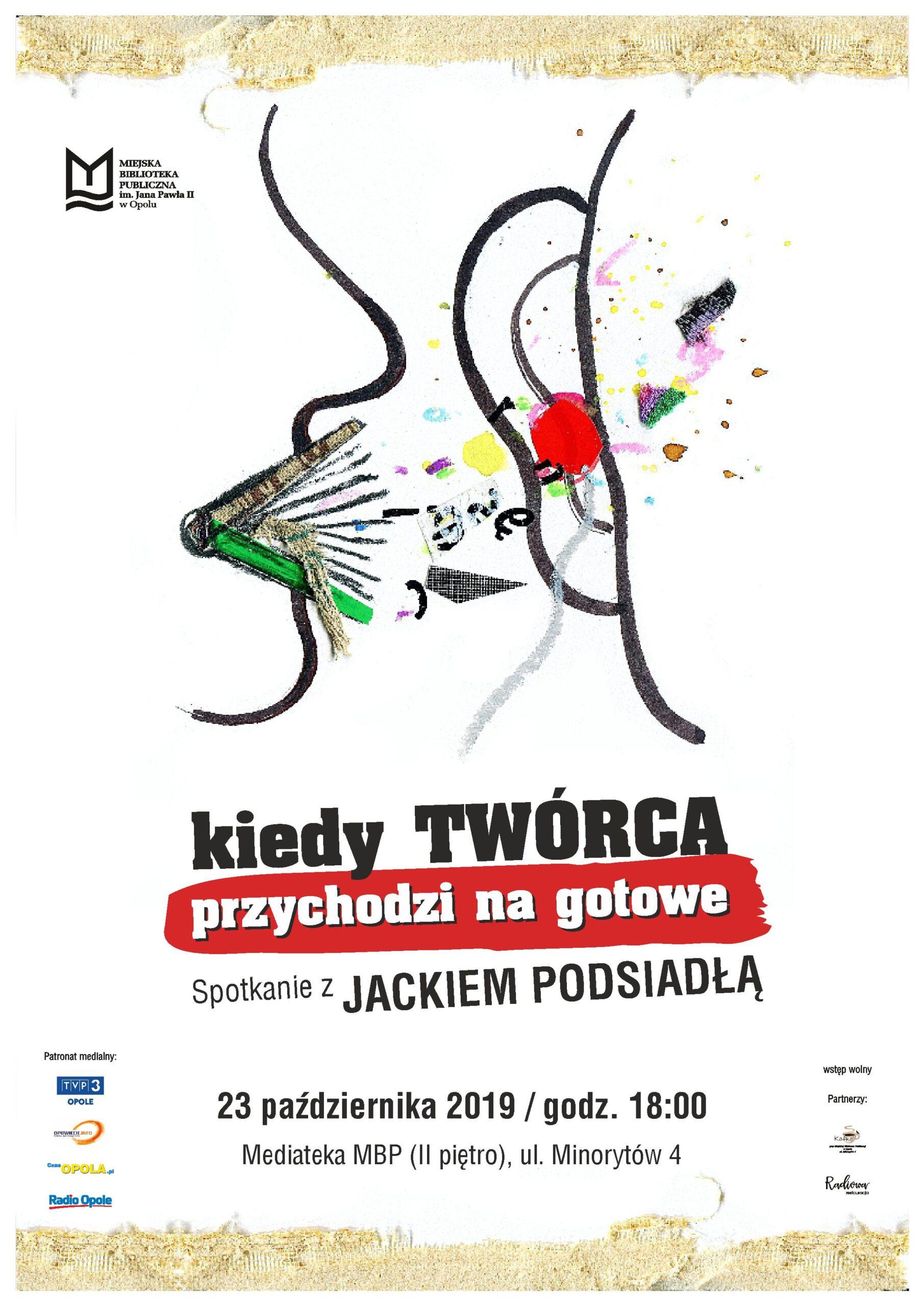 Read more about the article Kiedy twórca przychodzi na gotowe – spotkanie z Jackiem Podsiadłą