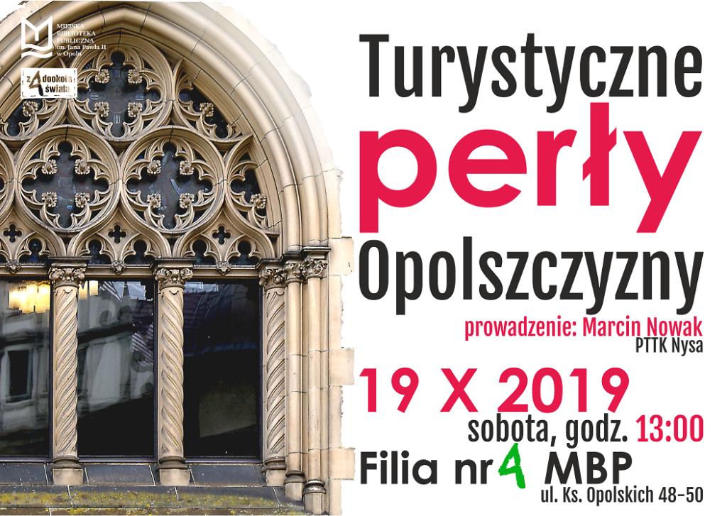 Turystyczne perły Opolszczyzny – spotkanie z przewodnikiem PTTK