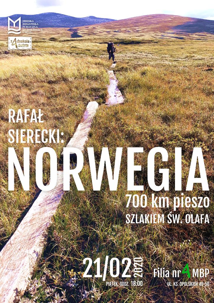 Norwegia. 700 kilometrów pieszo szlakiem św. Olafa